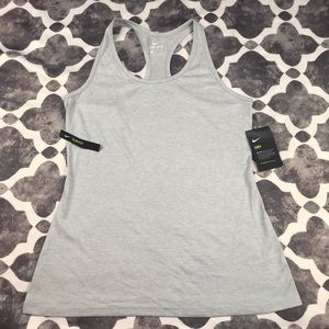 •Nike• dry fit running tank NWT pale dusty blue M